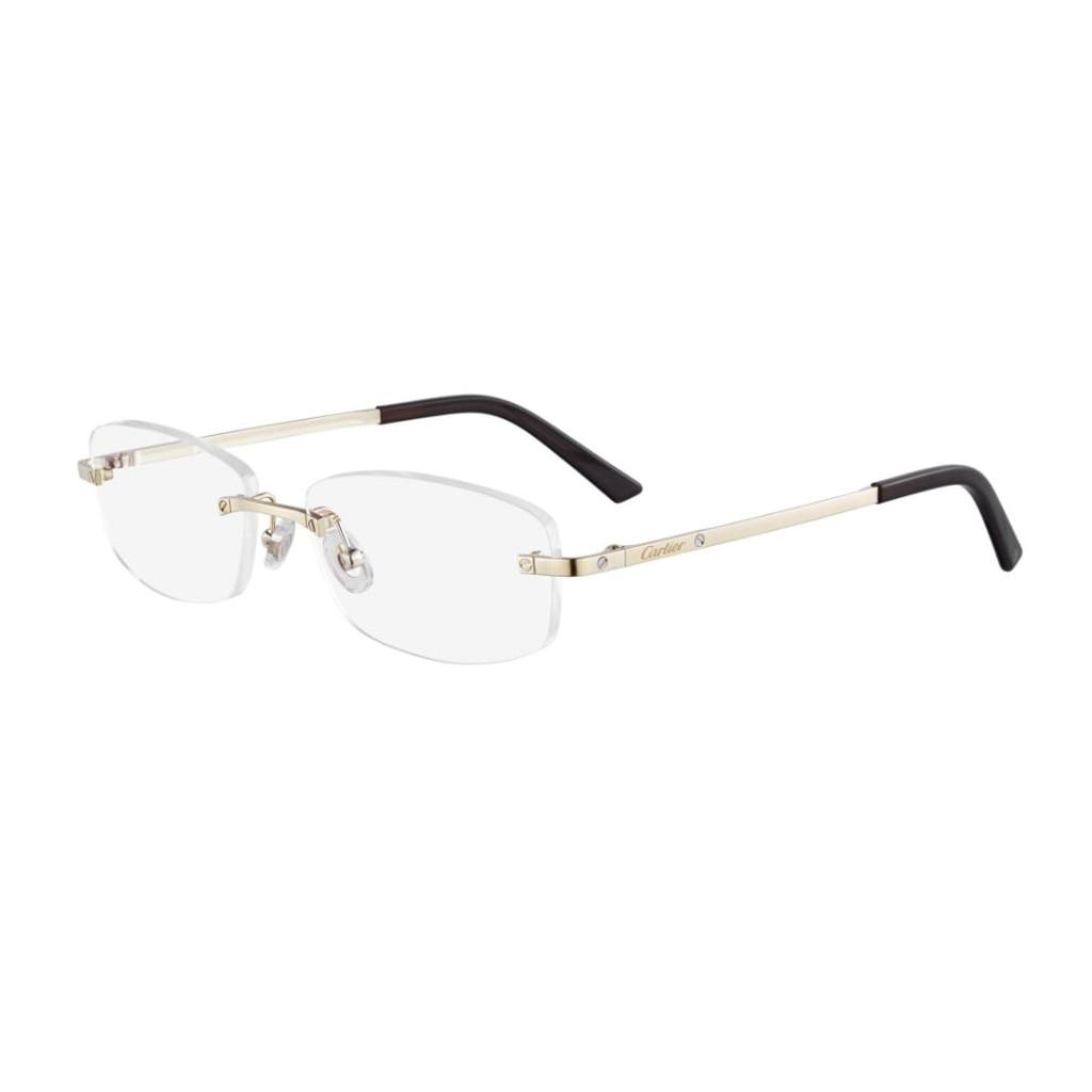 Ottico-Roggero-occhiale-vista-Cartier-CT-0086o-gold.