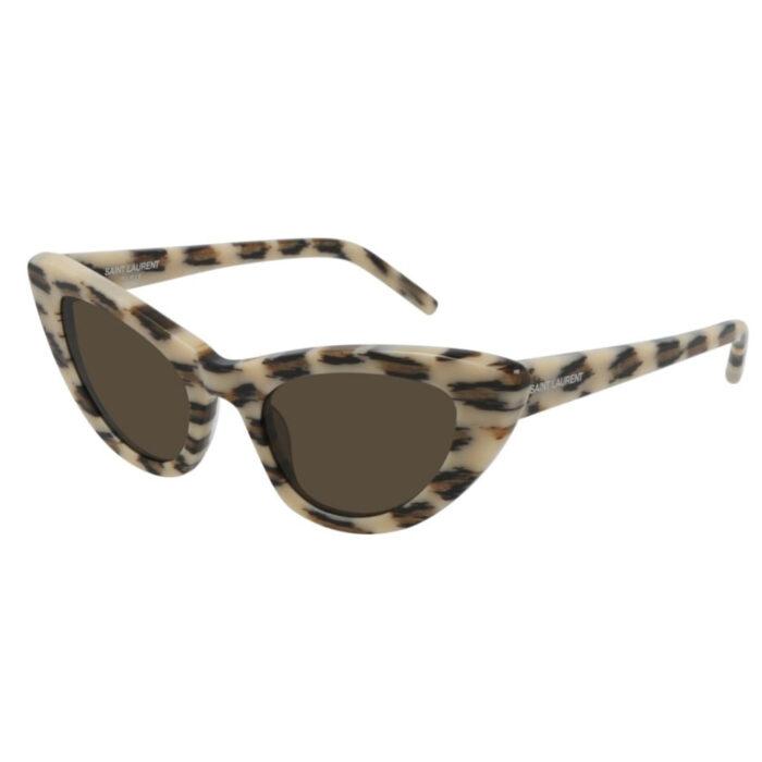 Ottico-Roggero-occhiale-sole-saint-laurent-sl-213-lily-ivory
